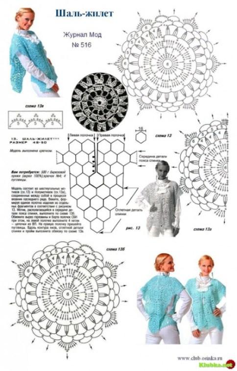 Patrones de ponchos y capas1