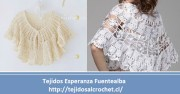 """Patrones. Patrón Crochet Bolero """"mañanero"""". Imperdible"""