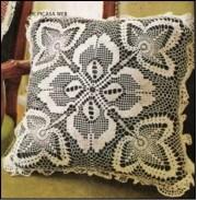 Tejido crochet almohadones. Esquema de un maravilloso cojín tejido