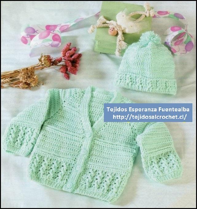 Tejidos al crochet para bebes