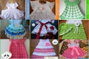 Vestidos crochet niña una gran selección para guardar