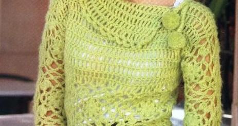 Blusa Crochet Invierno