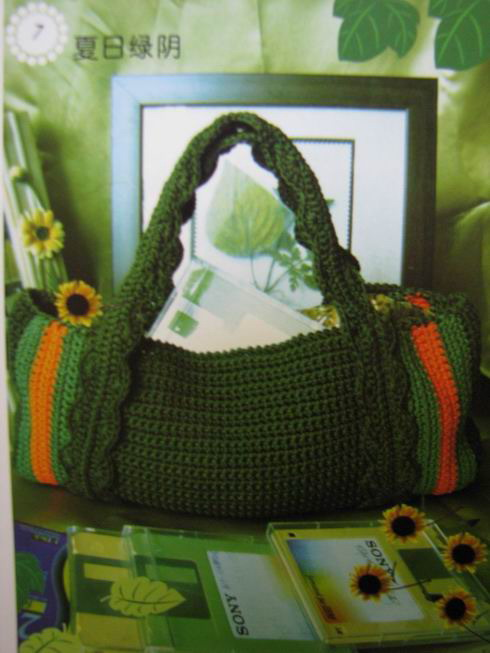 Bolso crochet esquemas