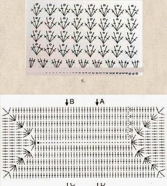 Patrón de bolso tejido con gancho2