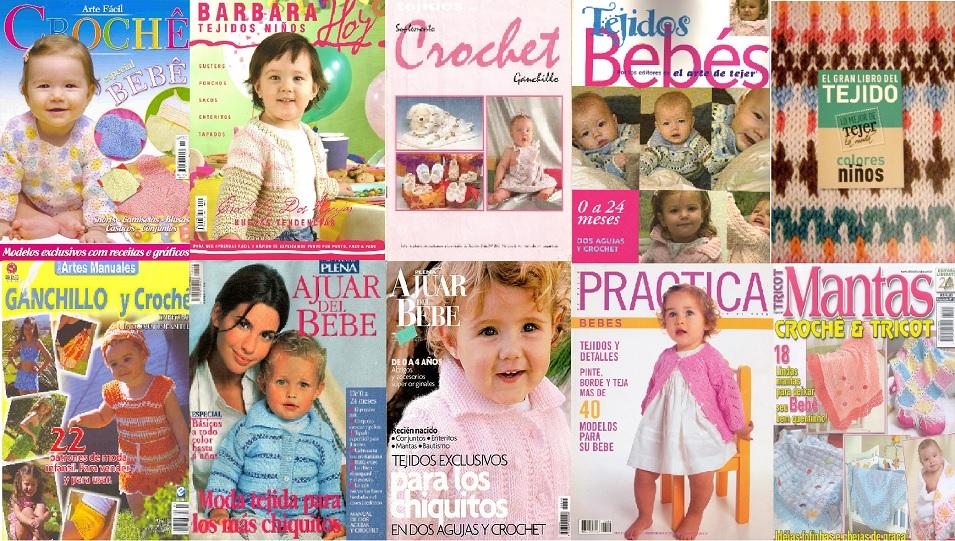 Revistas de crochet para niños