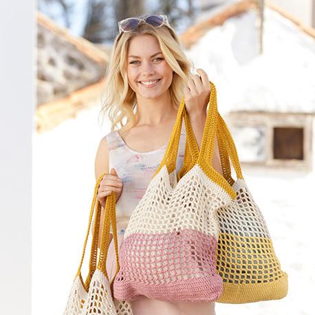 Bolso Back to the beach tejidos crochet