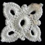 Crochet : Cuadrado # 4