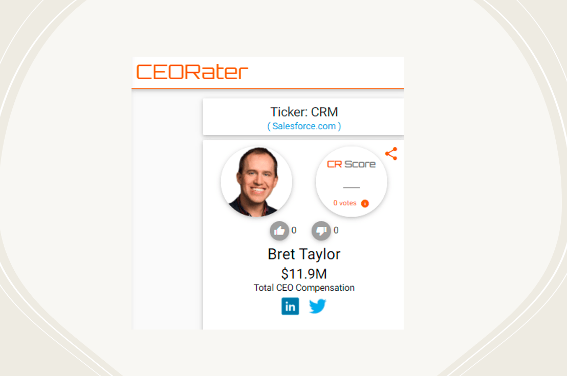 Is Salesforce COO Bret Taylor The Company's Next CEO?