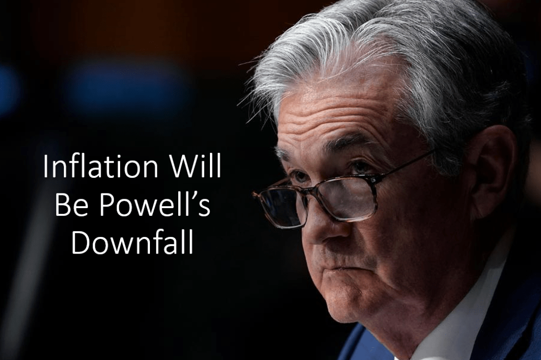 Inflation Is Here To Stay. Powell Likely Has Lost Control.