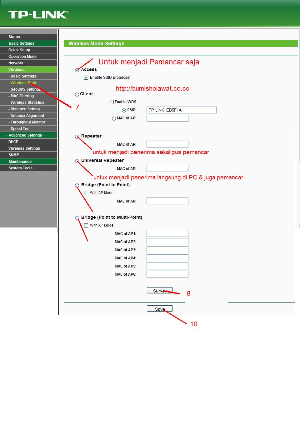 Setting Tp Link 5210 : setting, Menggunakan, Wa5210g