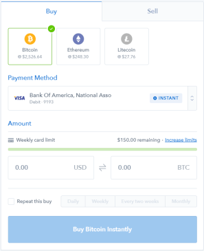 شرح التسجيل في منصة Coinbase وشراء العملات الرقمية بالفيزا أو الباي بال
