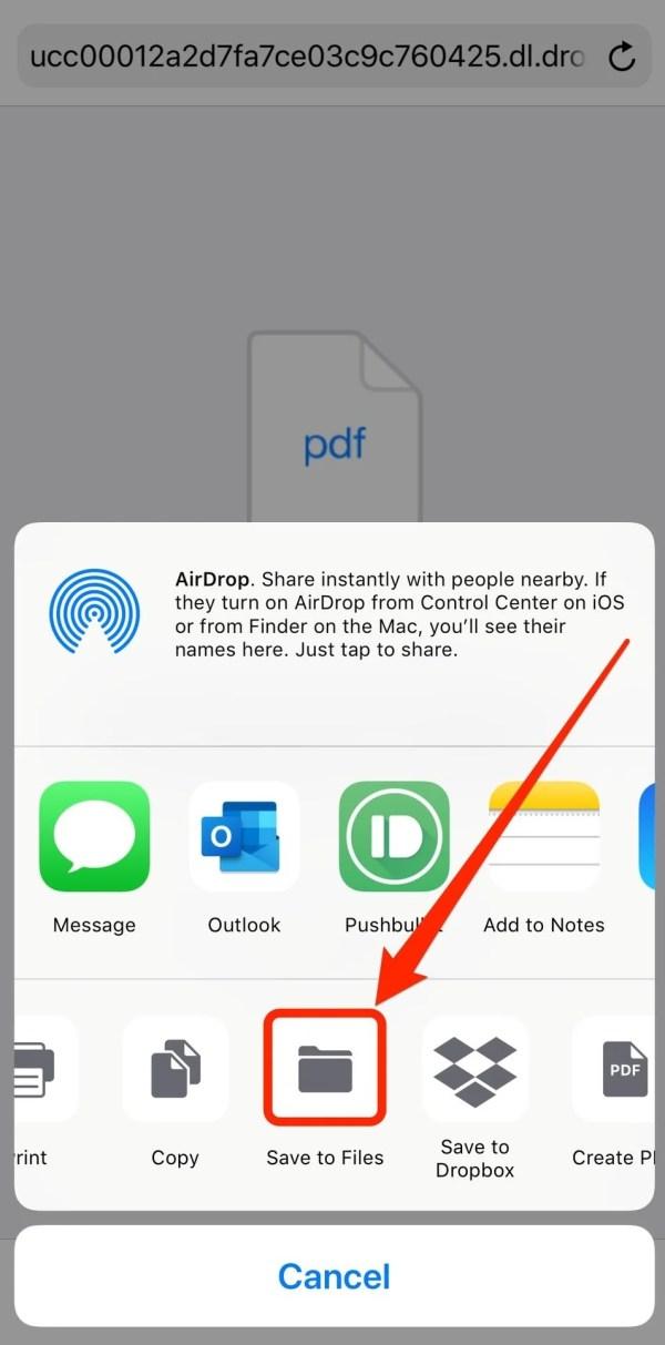 حفظ الملفات على هواتف ايفون - تقني نت تكنولجيا