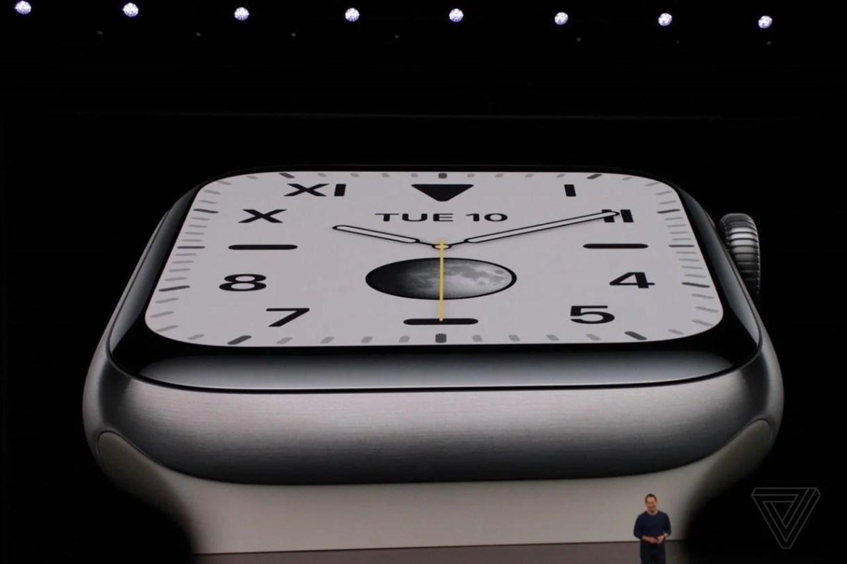 ميزات ساعة أبل Apple Watch Series 5 - تقني نت