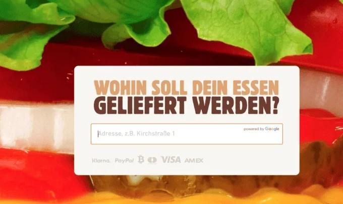 موقع برجر كنج يتيح لك الدفع في ألمانيا باستخدام البتكوين - العملات الرقمية تقني نت