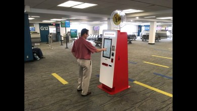 Photo of جهاز صراف آلي لعملة البتكوين BTC في مطار ميامي