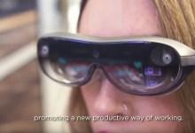 Photo of نظارة ذكية متطورة من شركة Lenovo تدعم الواقع المعزز