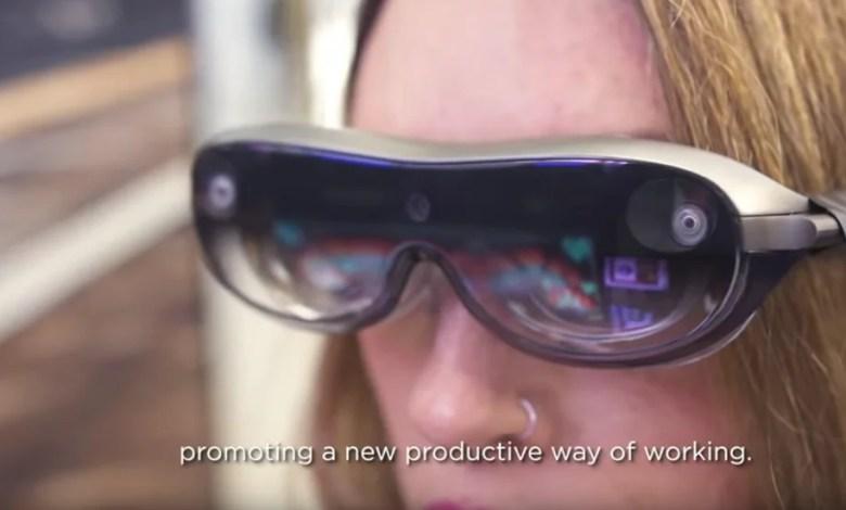 نظارة ذكية متطورة من شركة Lenovo تدعم الواقع المعزز - تقني نت العملات تكنولوجيا