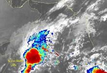 Photo of الحالة المدارية في بحر العرب تتطور لتصبح عاصفة مدارية بإسم بافان
