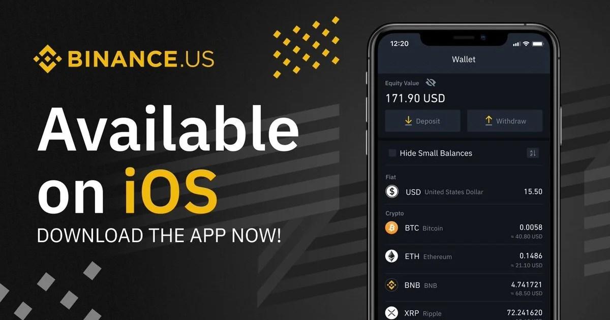منصة Binance في أمريكا تطلق تطبيق جديد لهواتف iOS وأندرويد - تقني نت العملات الرقمية