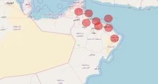 تفاصيل الإصابات بفيروس كورونا في سلطنة عمان وفقاً للمحافظات - تقني نت عمان