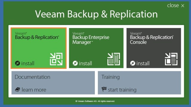 How to Install and configure Veeam Backup and Replication v9 | TekBloq