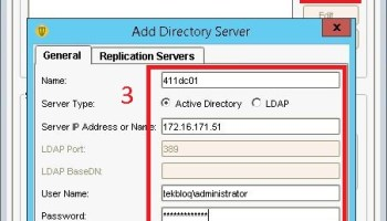 Create objects(OU,user and goups) on Active Directory Windows Server