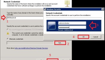 How to Install Domain Controller – Active Directory and DNS