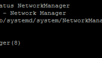 How to Disable Network Manager on Centos 7 | TekBloq