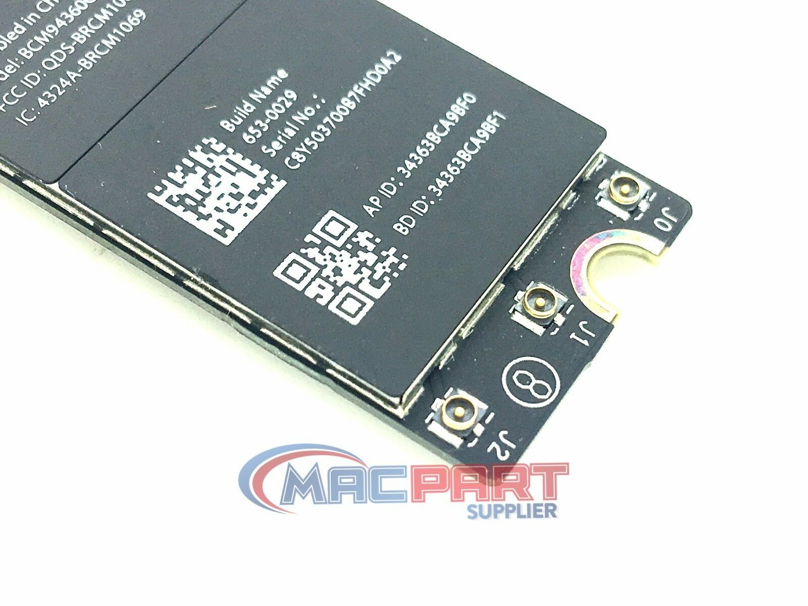 "13/"" MacBook Pro Retina A1502 AirPort Wifi Bluetooth Card 2013-2014 653-0029"