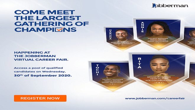 Jobberman Unveils A Massive Virtual Career Fair for Nigeria [Register & Attend]