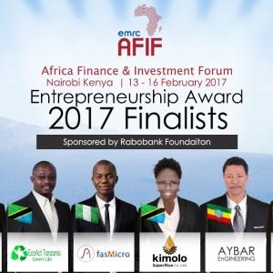 AFIF Entrepreneurship Award 2017 Contestants [Photo]