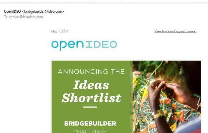 Zenvus progresses on OpenIDEO Challenge finding solutions at intersection of peace, prosperity and planet