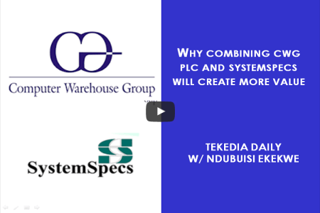 Why Combining CWG Plc And SystemSpecs Will Create More Value [Video]