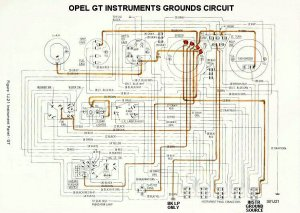 Opel GT instruments  A brief review