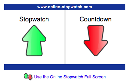 Classroom Timers - Online Stop Watch