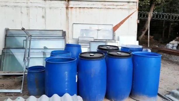 Tekirdağ'da tonlarca kaçak içki ele geçirildi