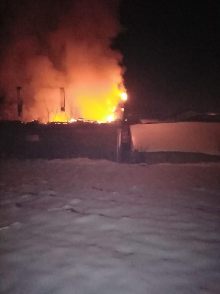 Tekirdağ'da şofben patladı: Ev cayır cayır yandı
