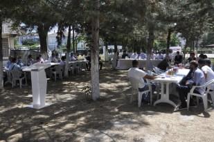 Muratlı'da protokol-vatandaş buluşması