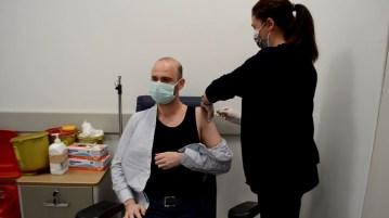Trakya'da aşı başarısı: Birinci doz tamamlanmak üzere