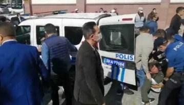 Tekirdağ'da polis ile eylem yapan işçiler arasında arbede