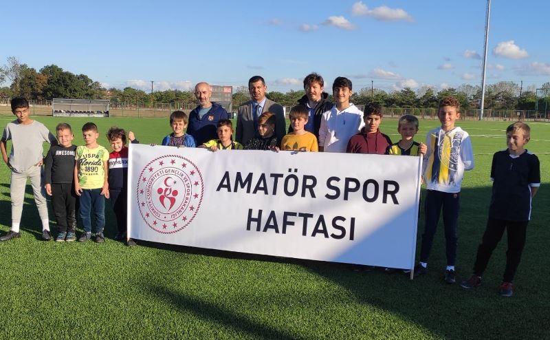 Ergene'de Amatör Spor Haftası etkinliklerle kutlandı