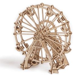 観覧車の3d木製パズル模型