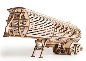 タンクトレーラーの立体模型パズル