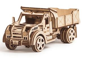 3D模型 アメリカントラックパズル