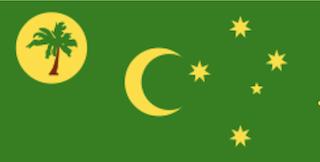 ココスキーリング諸島の旗