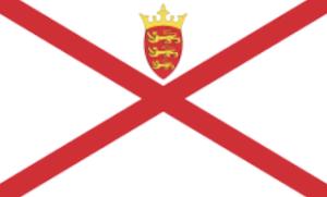 英国王室属領ジャージー国旗