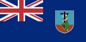 モントセラト国旗英国海外領土