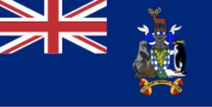 英国海外領土サウスジョージアの国旗