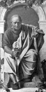 詩人ホラティウスの肖像