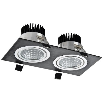 LED OC002B 2Х5W 5000K BL
